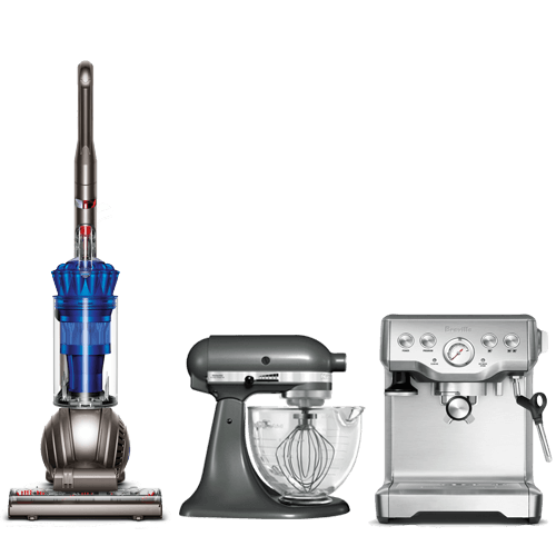 Small Appliance Repair. Vacuum repair, espresso machine repair, mixer repair